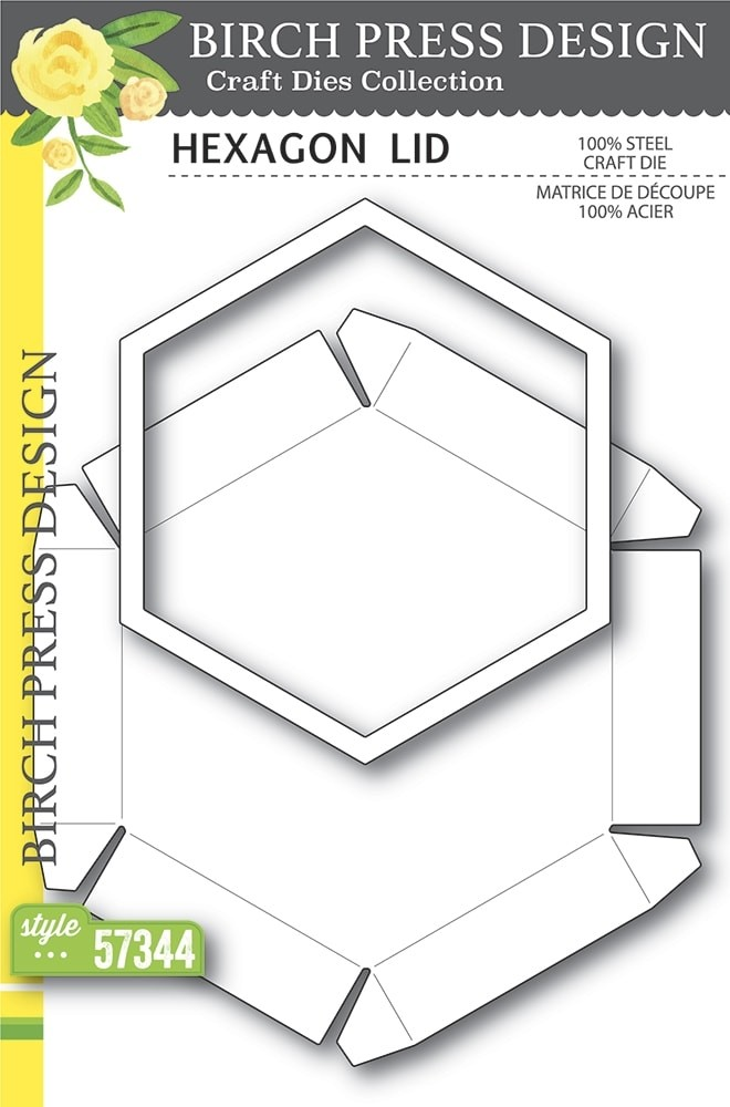 Birch Press Hexagon Lid 57344