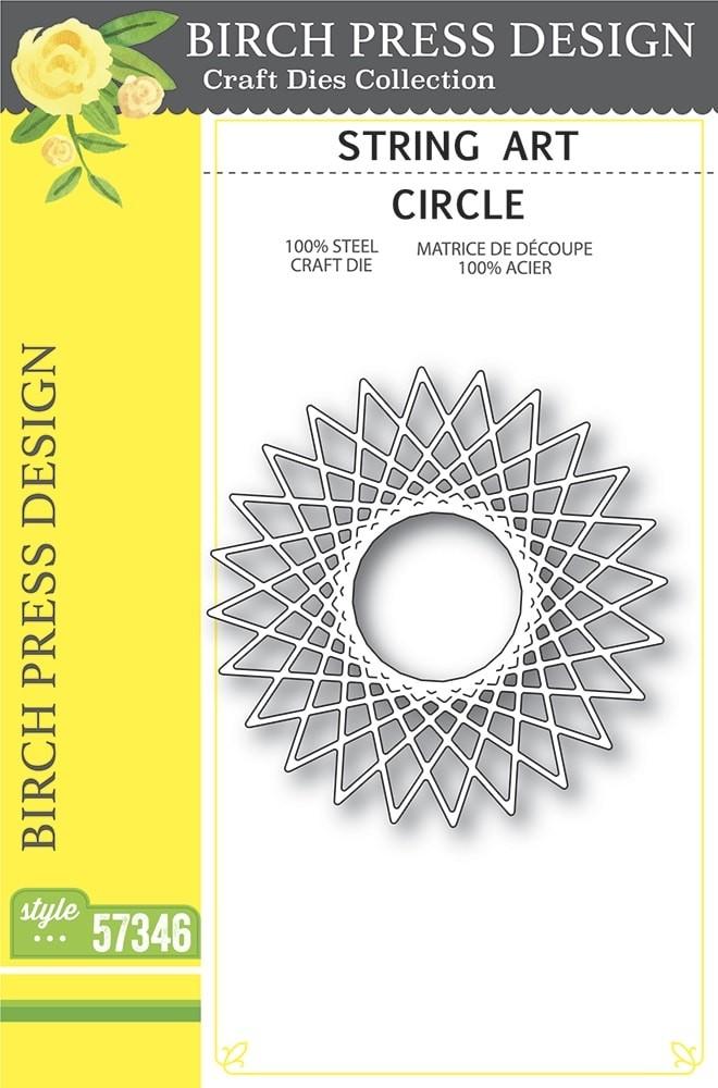 Birch Press String Art Circle 57346