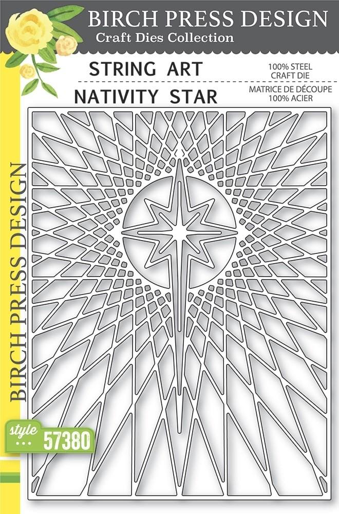 Birch Press Star Art Nativity Star 57380