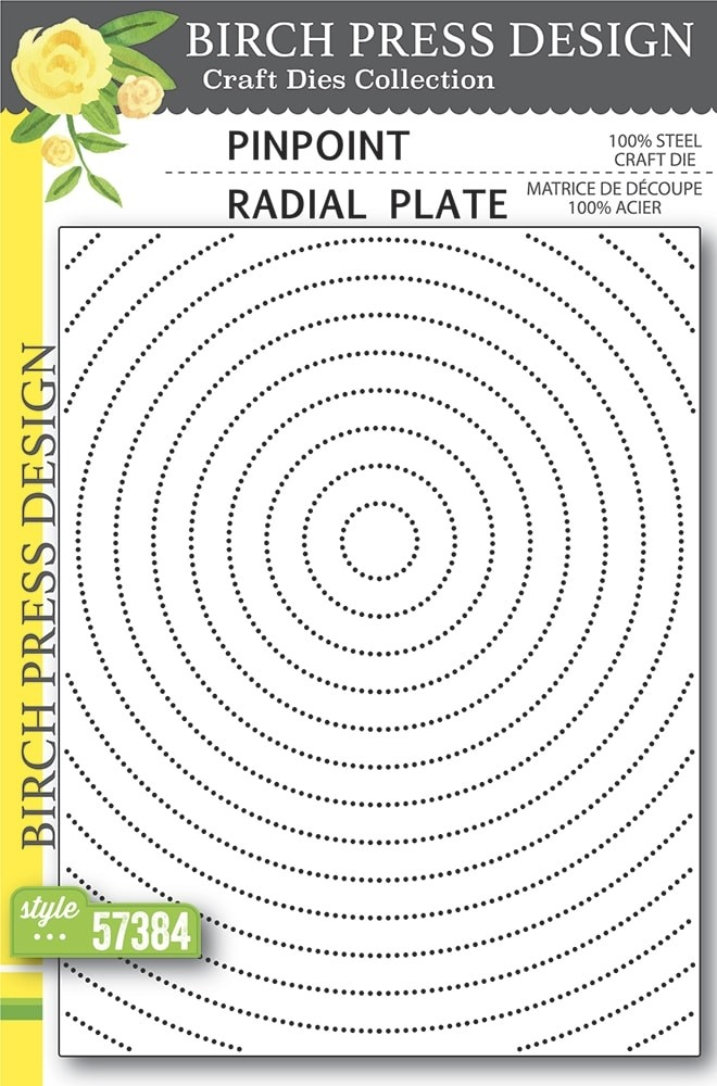 Birch Press Pinpoint Radial Plate 57384