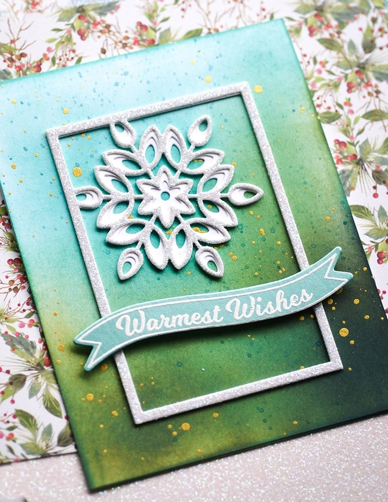 Birch Press Mini Snowflake Frame Layer Set 57391