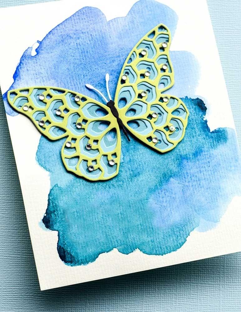 Birch Press Glimmer Butterfly Layer Set craft die 57429