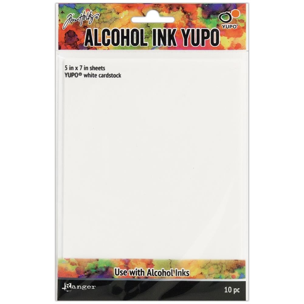 Tim Holtz Alcohol Ink White Yupo Paper 5x7in.
