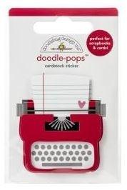 Doodlebug LOVE STORY Doodle Pops 3D Sticker Notes 6578