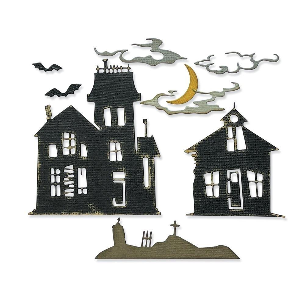 Sizzix Thinlits Dies By Tim Holtz - Ghost Town #2 665560