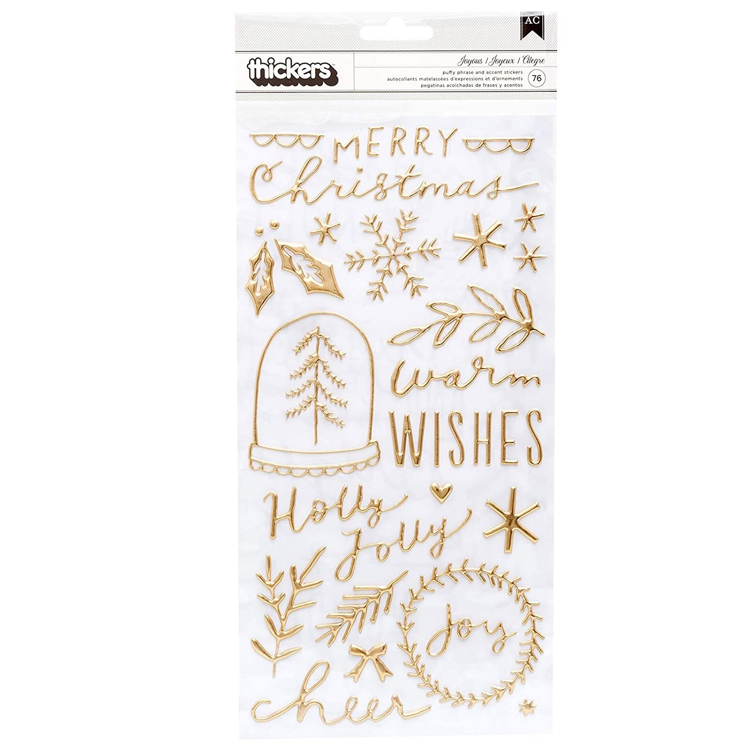 Crate Paper Joyous Thickers 344507