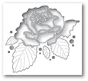 Memory Box Rose Bloom Collage 94004