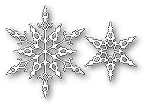 Memory Box Crystal Snowflakes Die 94033
