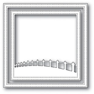 Memory Box Countryside Fence Frame Die 94034