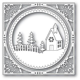 Memory Box Country Church Frame Die 94038