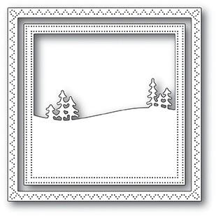 SALE - Memory Box Meadowtree Frame Die 94045