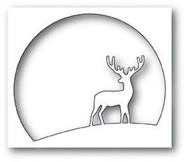 Memory Box Watching Deer Circle 94050