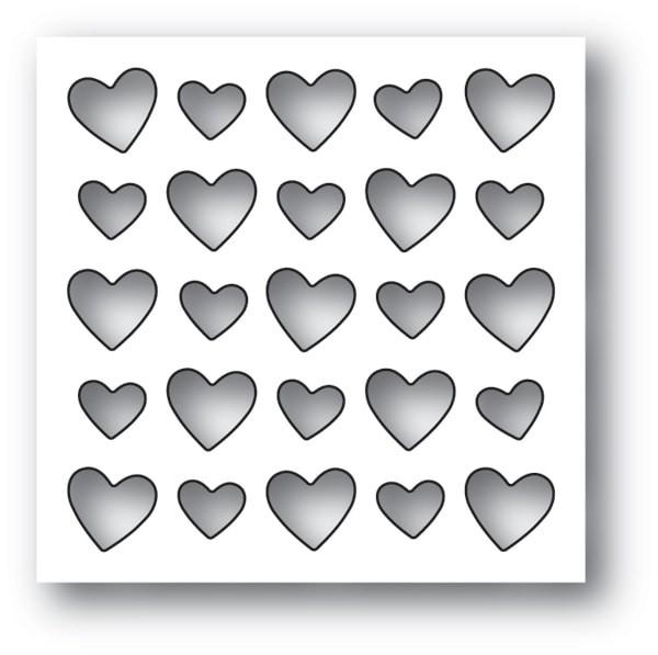 Memory Box Heart Board 94104