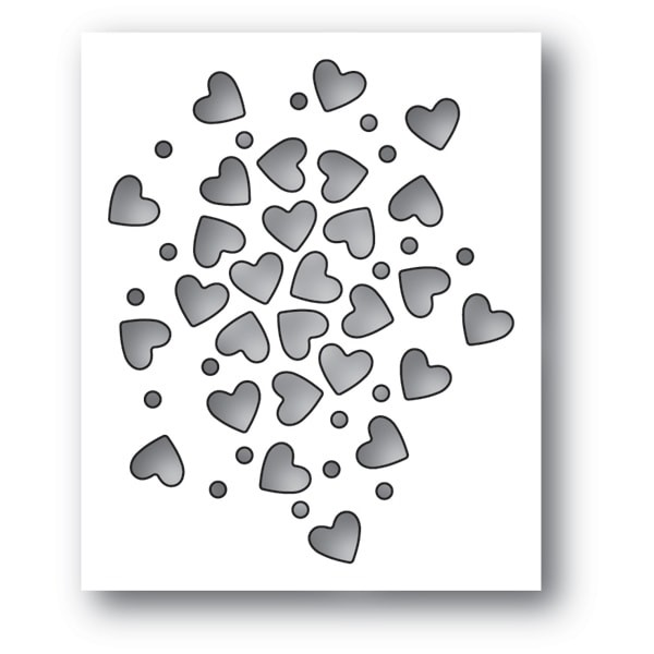 Memory Box Heart Sprinkles 94112