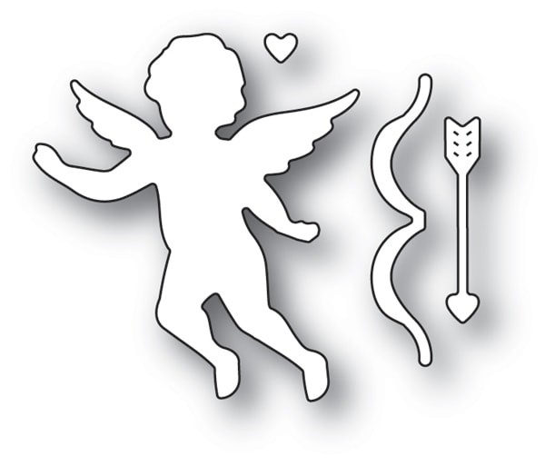 Memory Box Cupid with Bow 94115