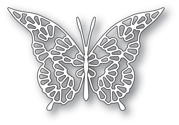 Memory Box Lace Butterfly ie 94116