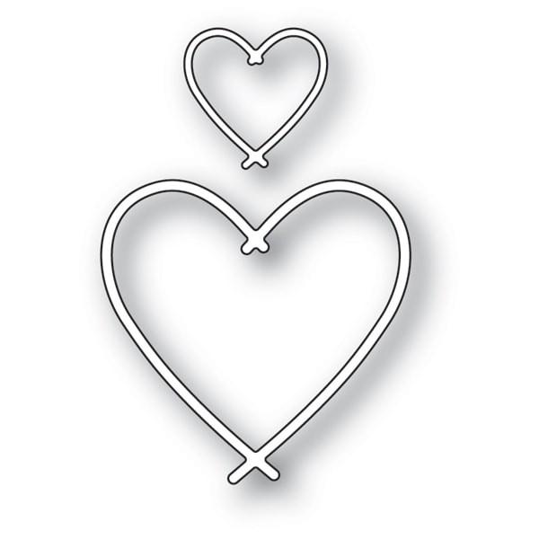 Memory Box Bundle Hearts 94124