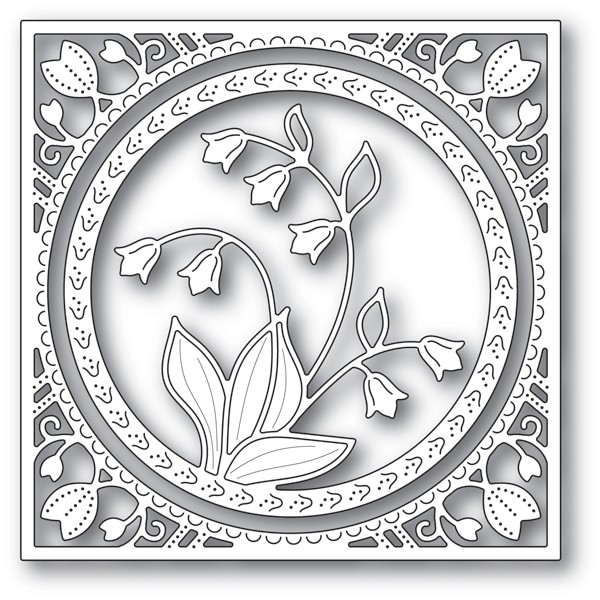 Memory Box Lily of the Valley Frame 94215