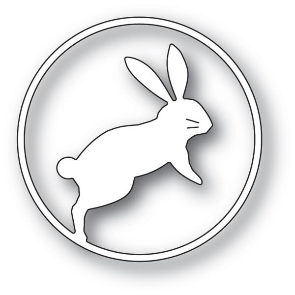 Memory Box Jumping Bunny Circle 94236