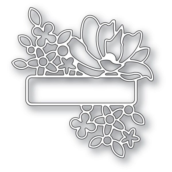 Memory Box Antique Garden Label 94259