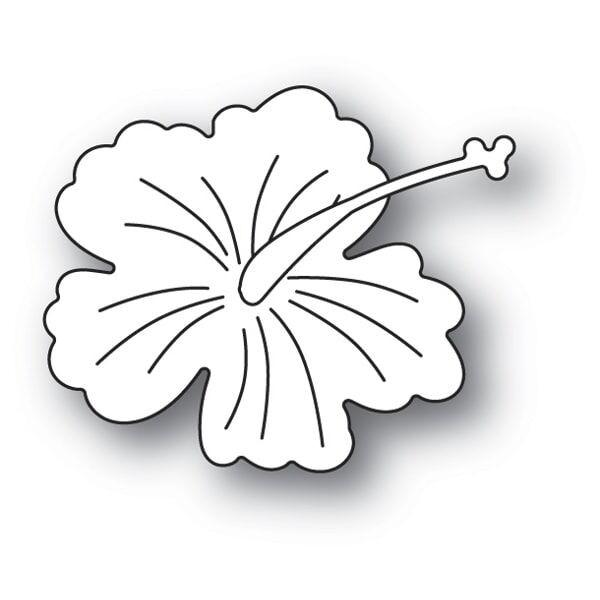 Memory Box Little Hibiscus Blossom 94263