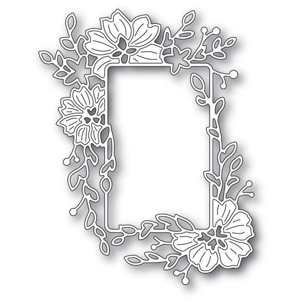 Memory Box Clarkia Flower Frame Die 94278
