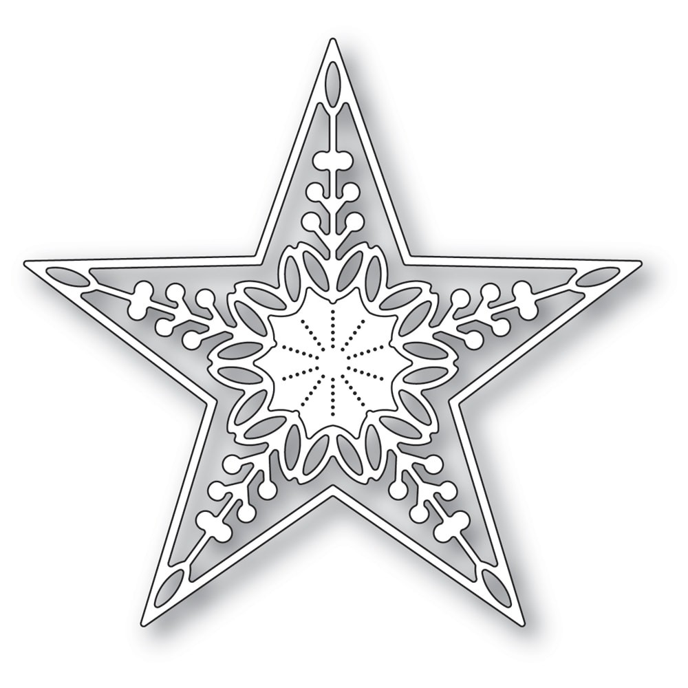 Memory Box Chandele Star Die 94317