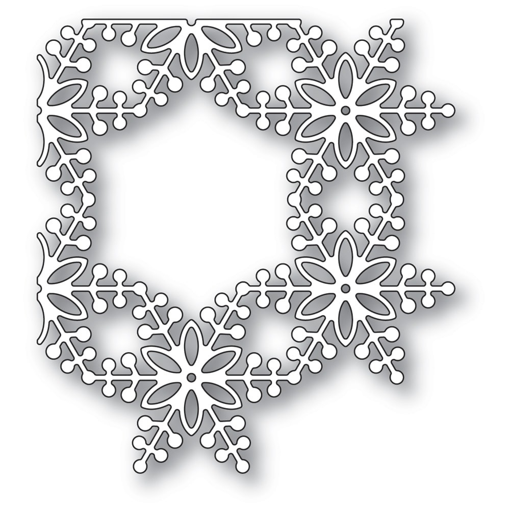 SALE - Memory Box Bauble Snowflake Corner 94336