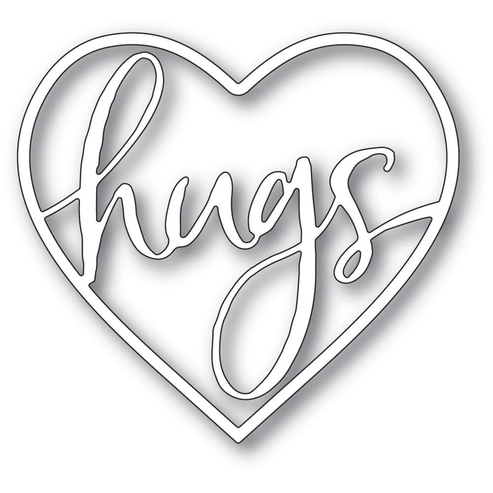 Memory Box Hugs Loving Heart craft die 94375