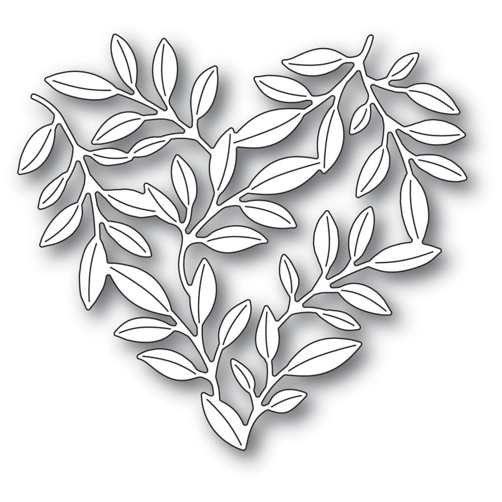 Memory Box Leafy Heart craft die 94377