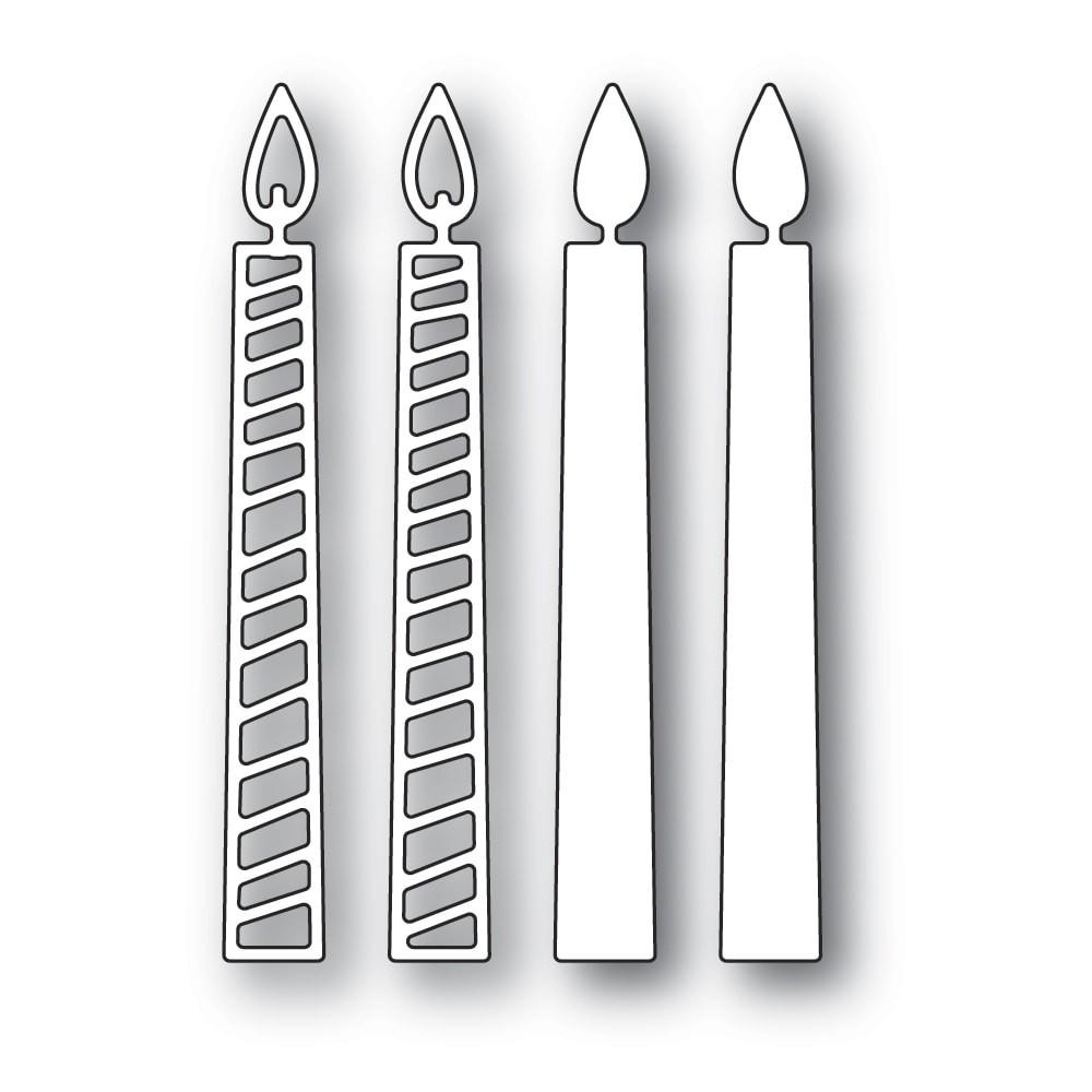 Memory Box Tall Birthday Candles 94395