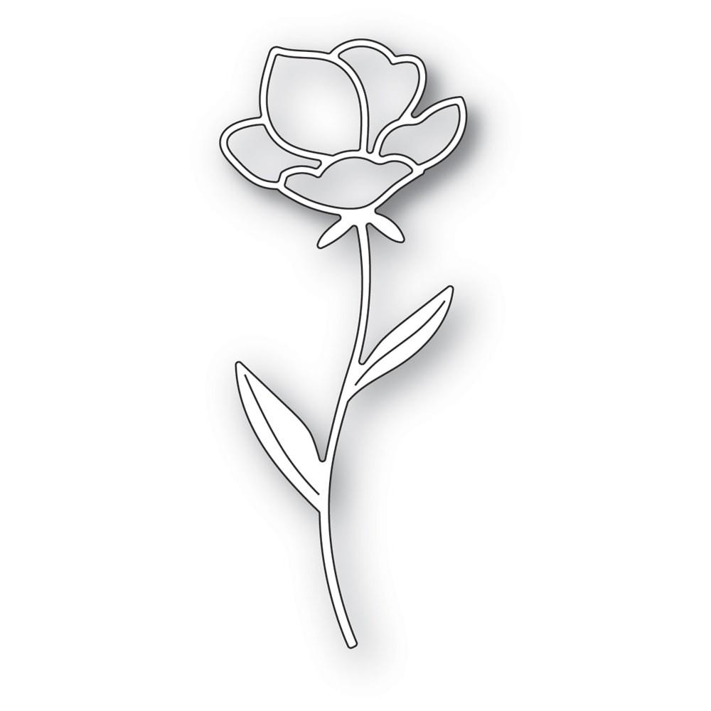 Memory Box Single Rose Stem 94397