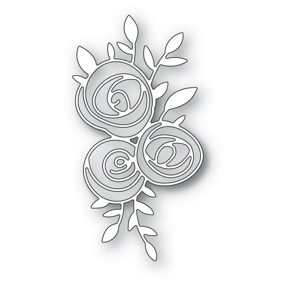 Memory Box Scribble Rose Trio 94399