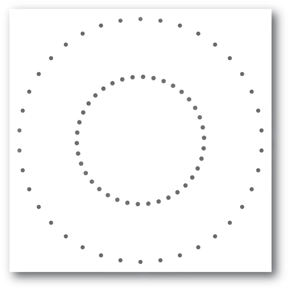Memory Box Stitched Circle 94404