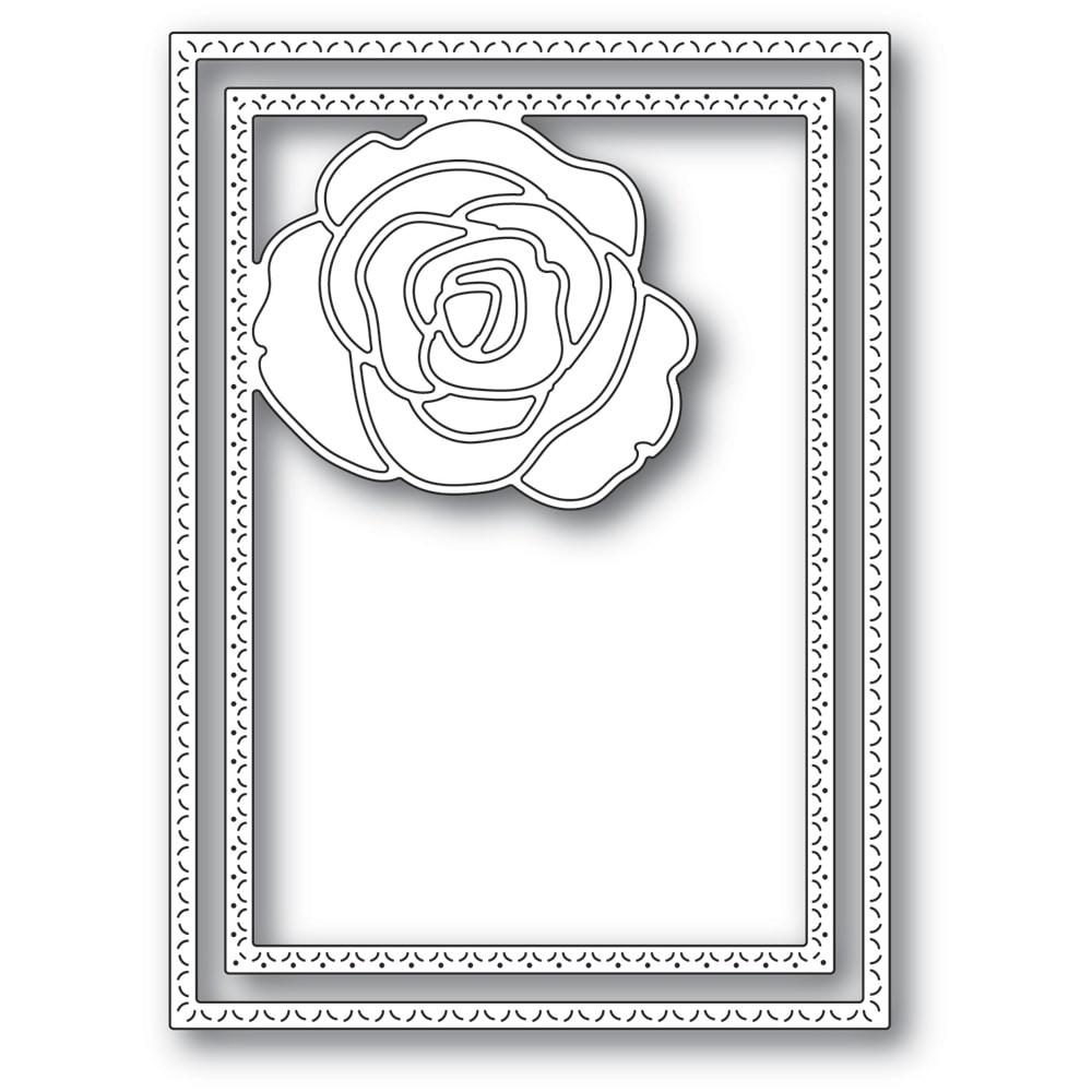 Memory Box Classic Rose Frame 94414