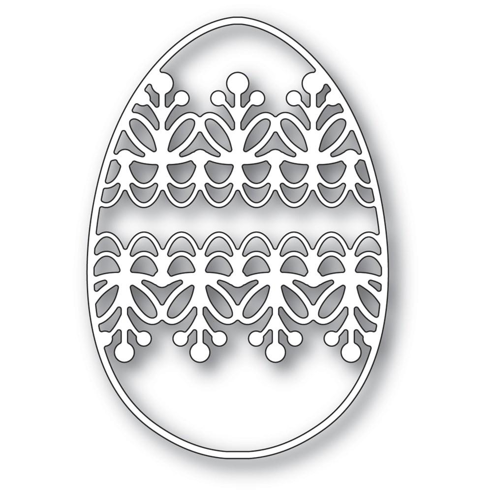 Memory Box Lacework Egg 94428