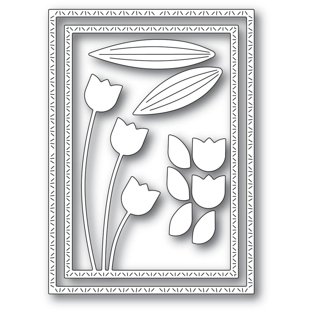 Memory Box Tulip Trio Frame 94440