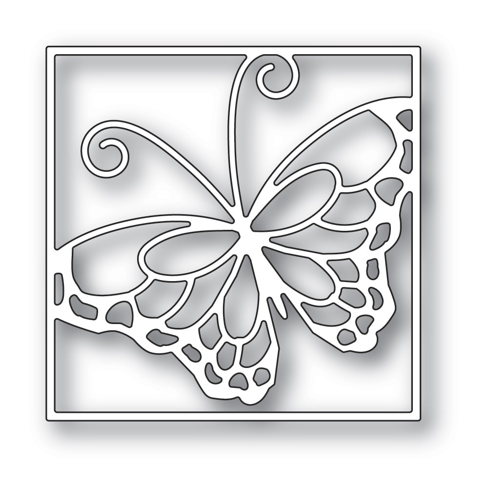 Memory Box Stained Glass Butterfly 94477