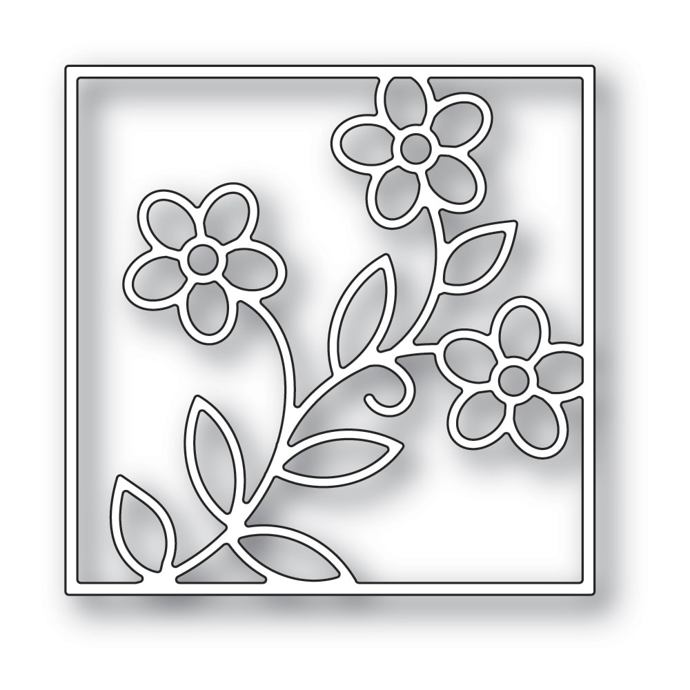 Memory Box Stained Glass Floral 94478