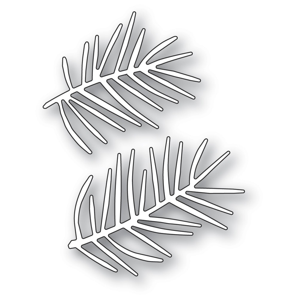 Memory Box Pointy Pine Needle Sprigs 94487
