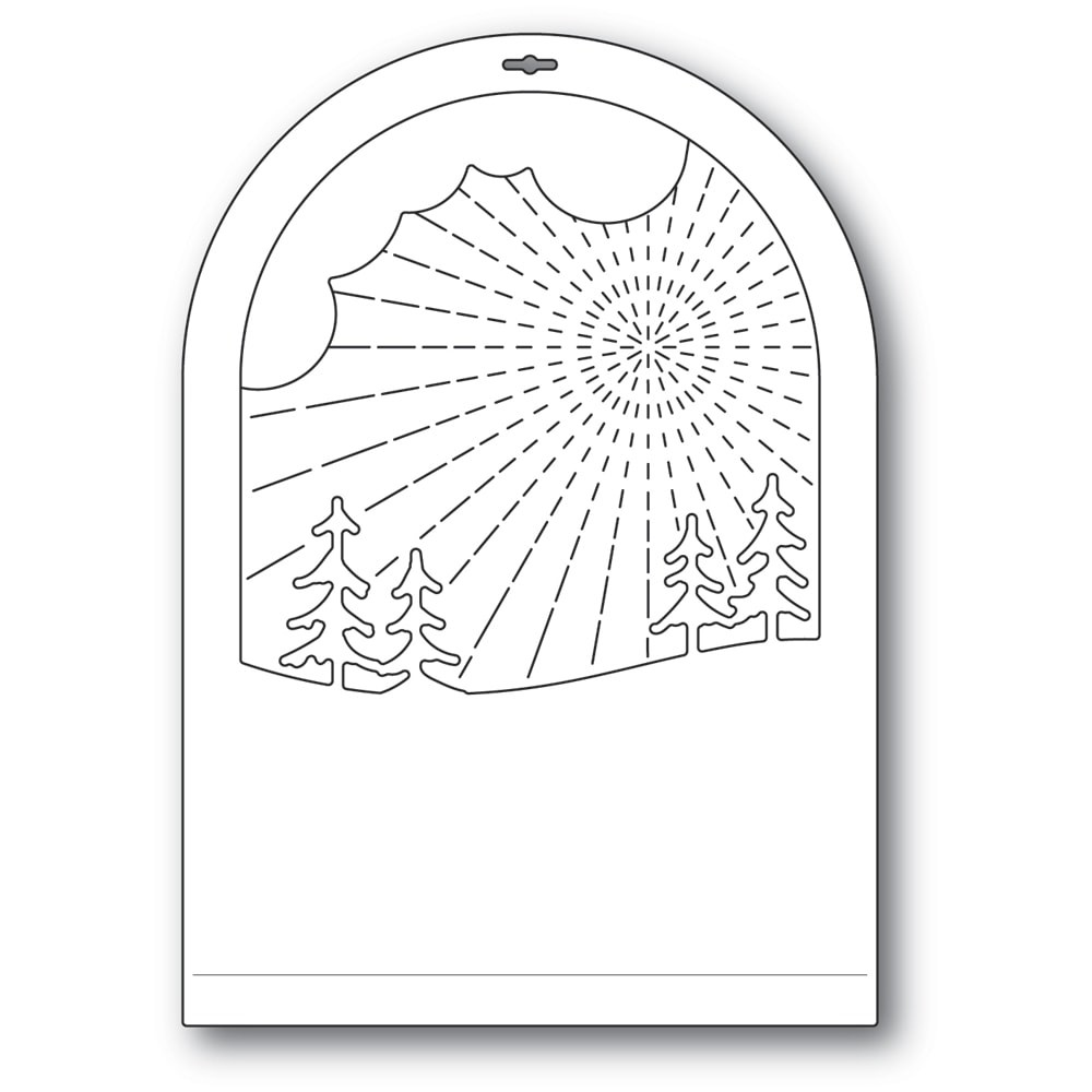 Memory Box Radiant Snowglobe 94493