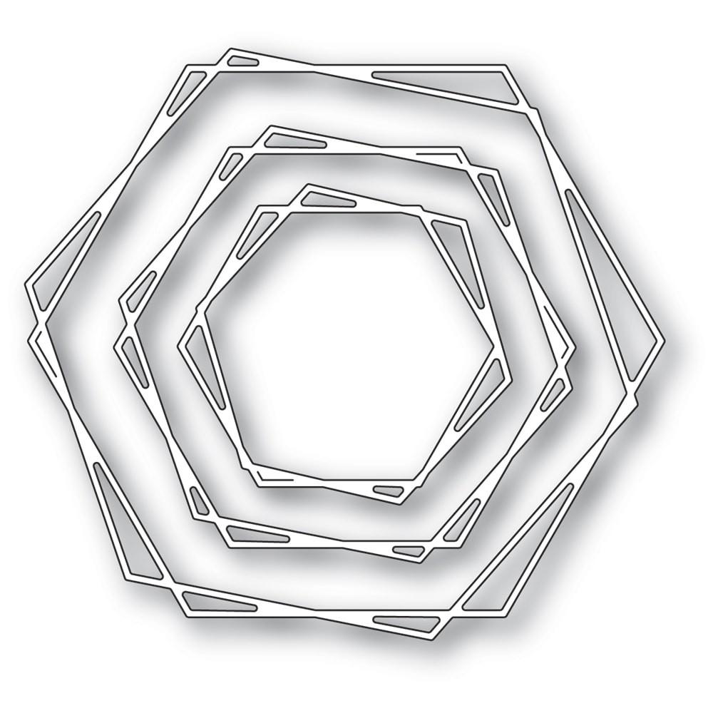 Memory Box Stylish Hexagon Trio 94515