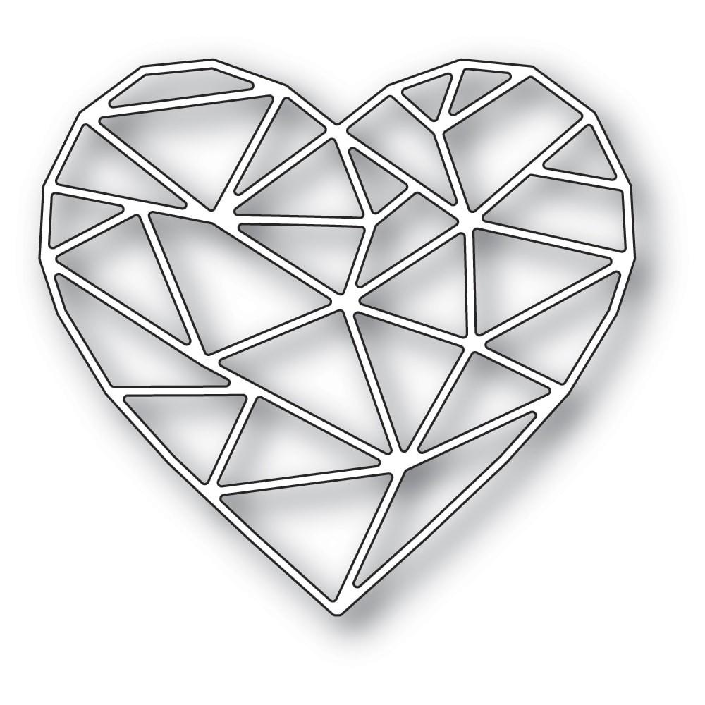 Memory Box Crystal Heart 94517
