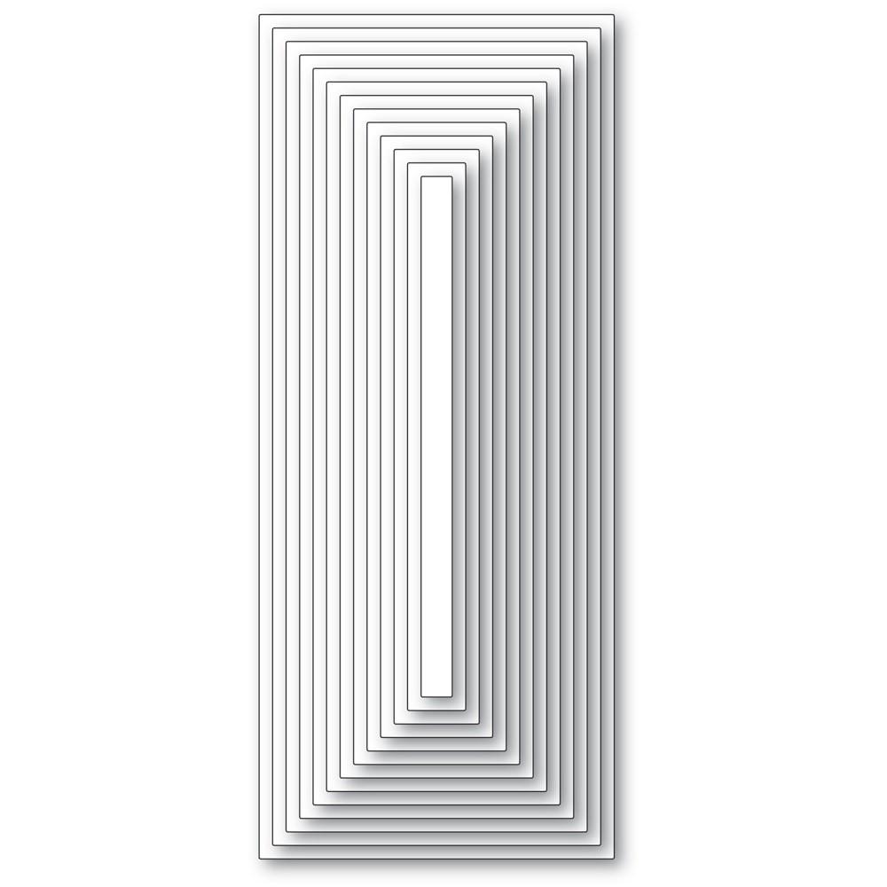 Memory Box Slim Basic Rectangle Layers 94556
