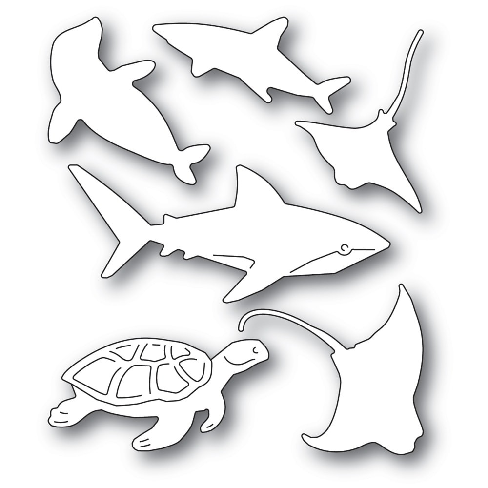 Memory Box Sea Creatures 94564