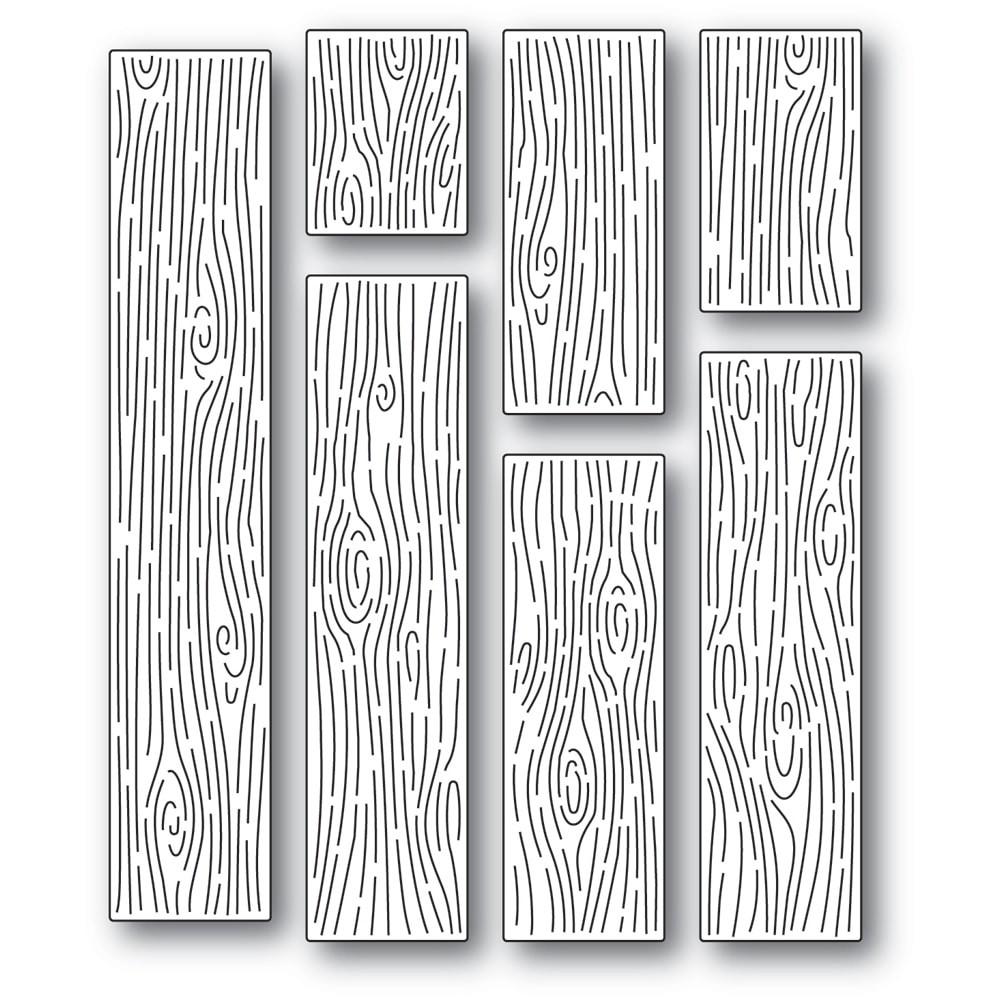 Memory Box Wood Grain Planks 94565
