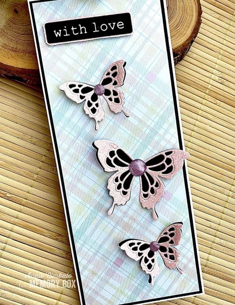 Memory Box Sylvan Butterfly 94577