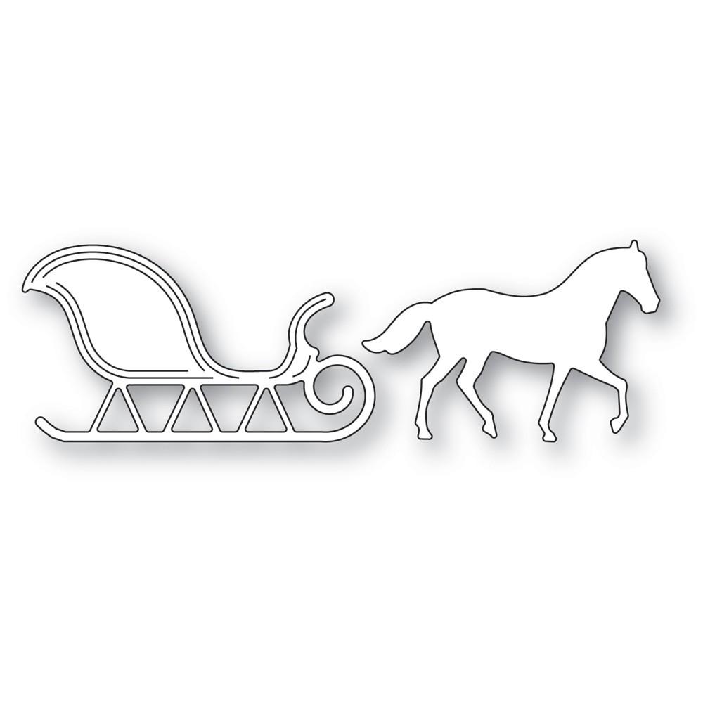 Memory Box Horse and Sleigh 94596