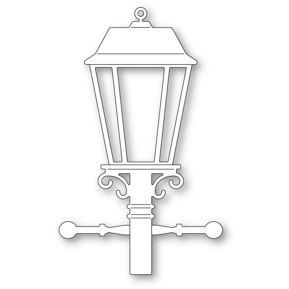 Memory Box Old Lamp Post 94598