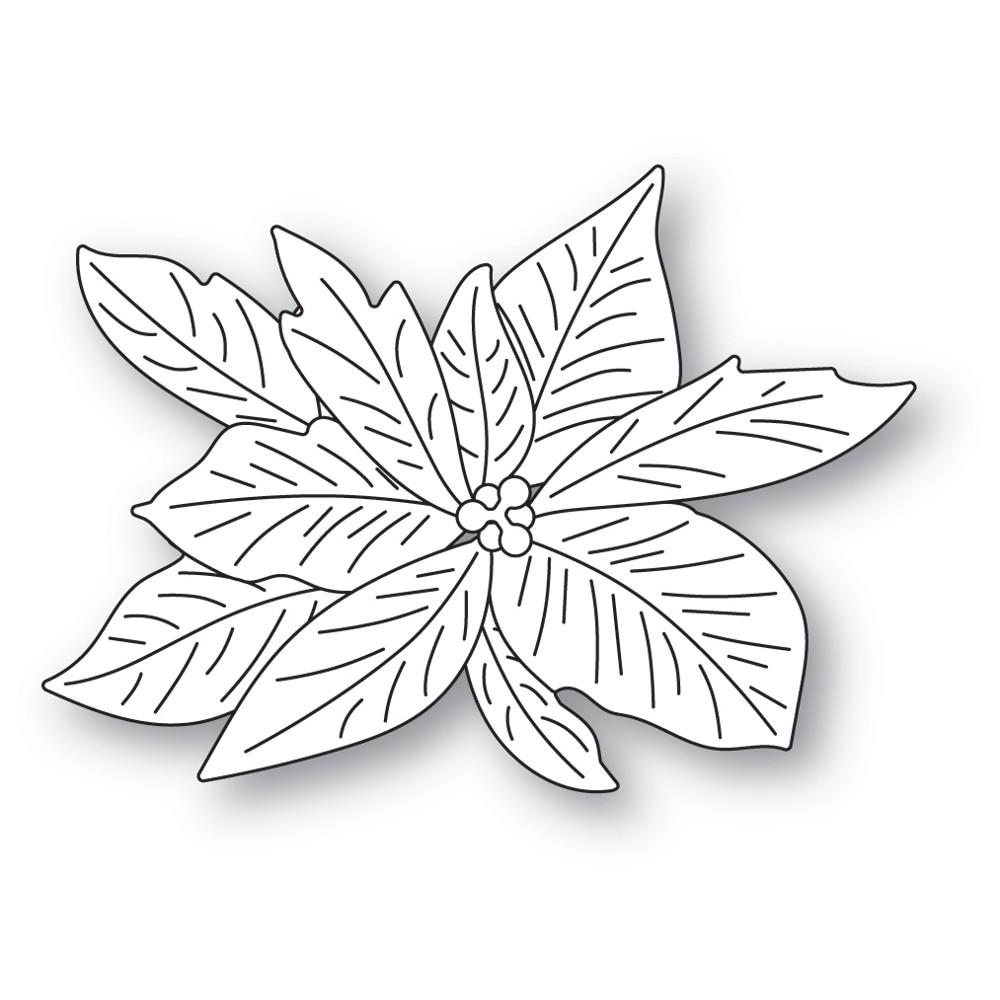 Memory Box Layered Poinsettia 94605